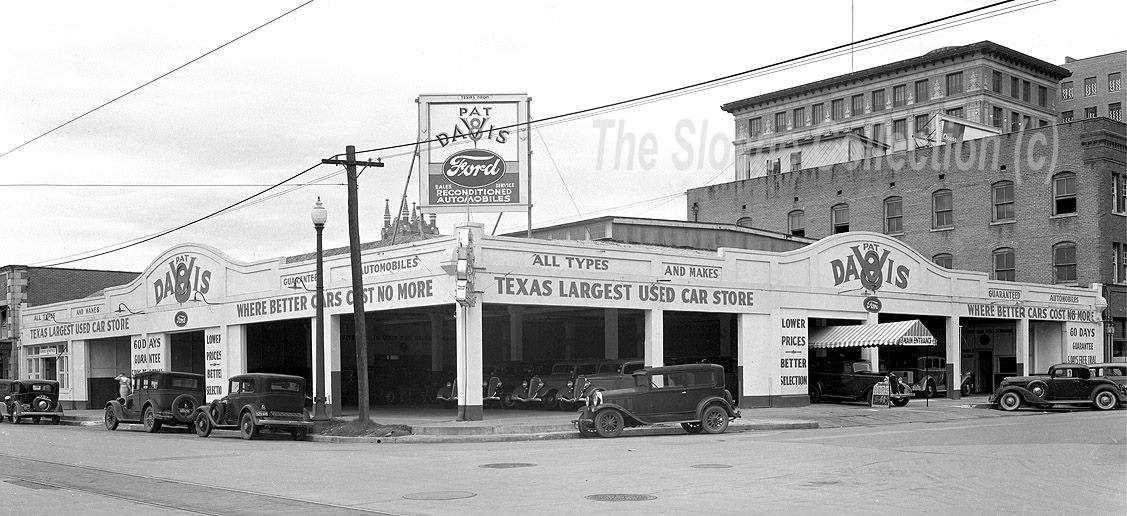 old ford dealerships page 2 historic houston haif houston 39 s. Cars Review. Best American Auto & Cars Review