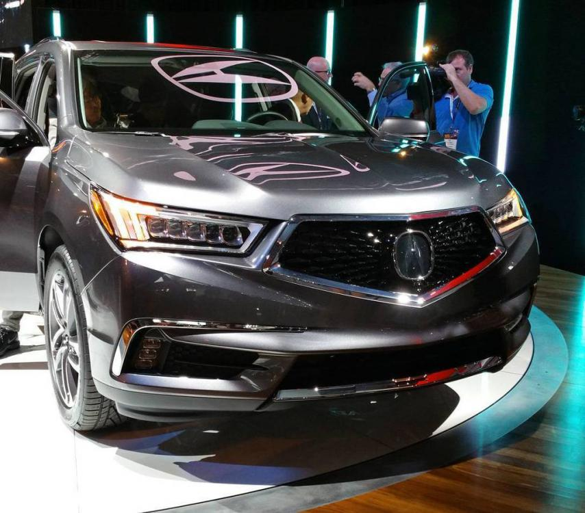 2017 Acura MDX Facelift Ditches The Beak Grille