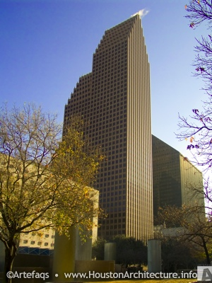 The Bank of America Center in Houston, Texas