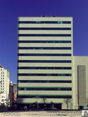The Binz Building in Houston, Texas
