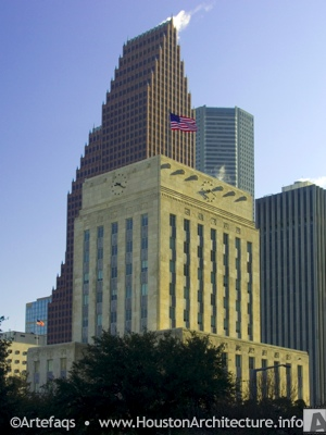 Houston City Hall in Houston, Texas