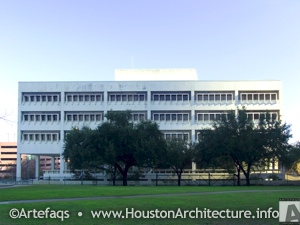 Houston City Hall Annex in Houston, Texas