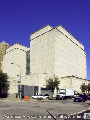 Federal Detention Center in Houston, Texas