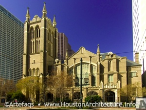 First United Methodist Church in Houston, Texas