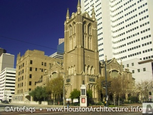 Photo of First United Methodist Church in Houston, Texas