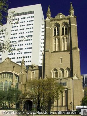 Photo of First United Methodist Church in Houston, Texas