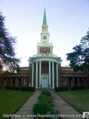Photo of Fourth Church of Christ Scientist in Houston, Texas