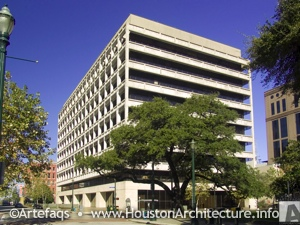 Harris County Administration Building in Houston, Texas