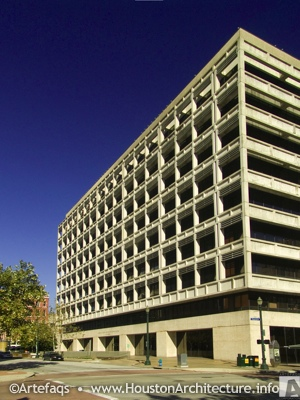 Photo of Harris County Administration Building in Houston, Texas