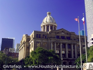 Harris County Civil Courthouse in Houston, Texas