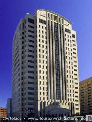 Harris County Criminal Justice Center in Houston, Texas