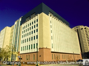 Photo of Harris County Juvenile Justice Center in Houston, Texas