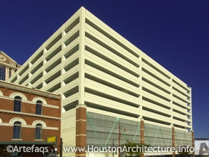 Harris County Parking Garage in Houston, Texas
