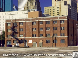Hogan-Allnoch Dry Goods Building in Houston, Texas