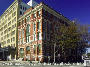 Houston Cotton Exchange in Houston, Texas