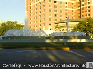 Mecom Fountain in Houston, Texas