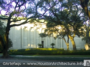 Museum of Fine Arts, Houston Caroline Wiess Law Building in Houston, Texas