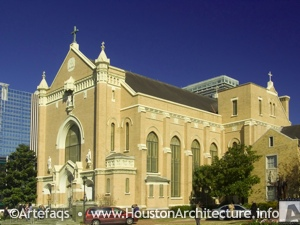 Former Sacred Heart Co-Cathedral in Houston, Texas
