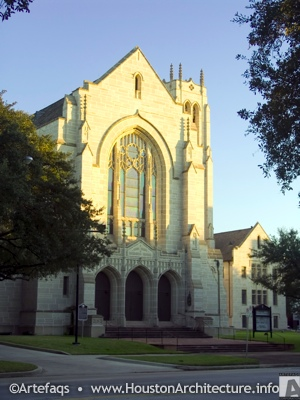 Saint Paul's Methodist Church in Houston, Texas