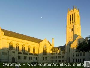 Saint Paul's Methodist Church: 5501 Main, Houston, Texas, 77004