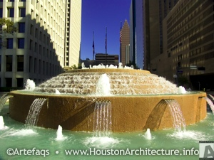 Smith Fountain in Houston, Texas