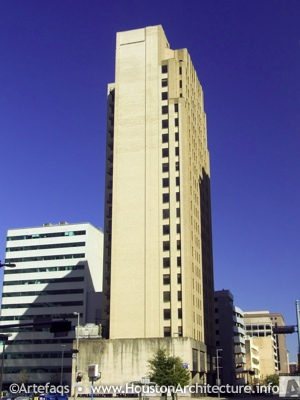 Texas Tower in Houston, Texas