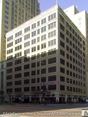 Great Jones Building in Houston, Texas