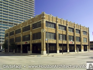 Photo of The Houston Press Building in Houston, Texas