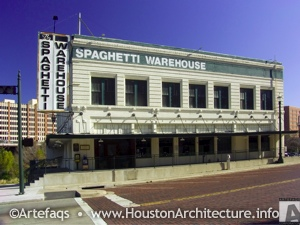 The Spaghetti Warehouse in Houston, Texas