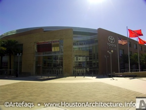 The Toyota Center in Houston, Texas