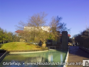 Tranquility Park in Houston, Texas