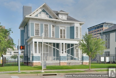 Arthur B. Cohn House in Houston.  Photo by Ed Uthman