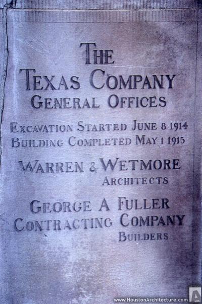 Texaco Building in Houston.  Photo by Robert Love