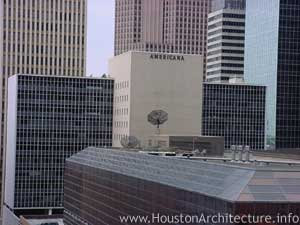 Americana Building in Houston, Texas