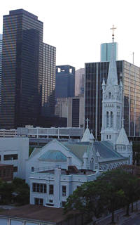 Annunciation Catholic Church in Houston, Texas