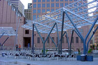 Jones Plaza in Houston, Texas