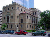 Houston Public Library Julia Ideson Building in Houston, Texas