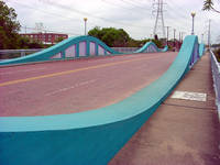 Photo of McKee Street Bridge in Houston, Texas