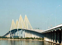 Fred Hartman Bridge in La Porte, Texas