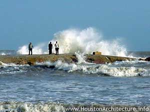 Photo of Galveston County Jetty in Galveston, Texas