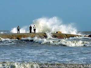 Photo of Galveston County Jetty in Galveston, Texas