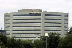 Baker Hughes Building in Houston, Texas