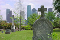 Glenwood Cemetery in Houston, Texas