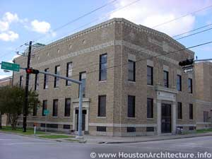Levy Memorial Community Hall in Houston, Texas