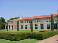 Rice University Anderson Hall in Houston, Texas