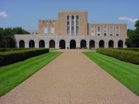 Rice University Fondren Hall in Houston, Texas