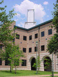 Rice University - George R. Brown Hall in Houston, Texas