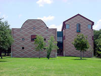 Rice University Herring Hall in Houston, Texas