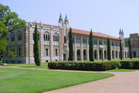 Photo of Rice University Herzstein Hall in Houston, Texas