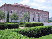 Photo of Rice University James A. Baker III Hall in Houston, Texas
